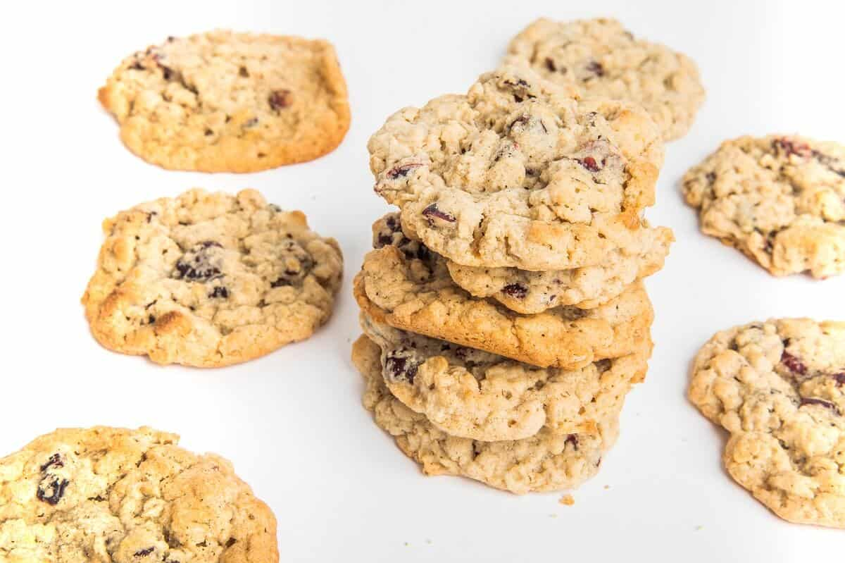 Gluten-Free Oatmeal Cranberry Cookies In partnership with Nine Times Bakery